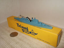 Vintage Rare Tri-ang Minic Waterline Ships M761 HMS Swiftsure in 1:1200 Scale