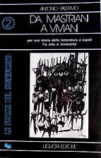 PALERMO DA MASTRIANI A VIVIANI STORIA LETTERATURA NAPOLI '800 '900 LIGUORI 1974
