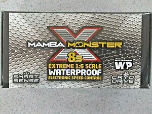 Castle Creations Mamba Monster X 8S 1/6 Brushless ESC 010-0165-00 Brand New!!
