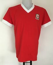 Wales Retro Home Shirt official merchandise Size Adult Large Brand New no tags