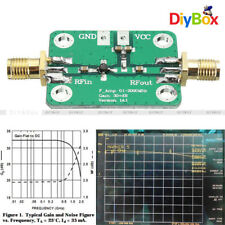 0.1MH​z-2000MH​z 2Ghz RF Wideband Signal Amplifier 30dB low-noise LNA Broadband