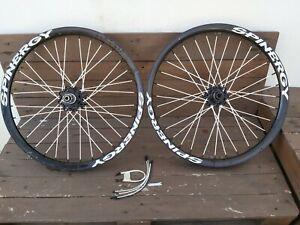 Spinergy Fall Line DH/Enduro Freeride wheelset, RARE, 20x110mm 12x150mm