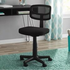 Mesh Office Desk Task Chair With Plush Padded Swivel Seat For Comfort Reliable