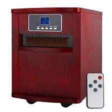 1500W Portable Electric Digital Quartz Infrared Heater with Remote Control