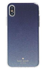 Kate Spade New York 256610 Ombré Glitter Blue Clear Multi iPhone X/XS Case