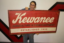 """Large Kewanee Agriculture & Farm Equipment Tractor Gas Oil 48"""" Metal Sign"""