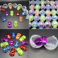 Plastic ball capsules kids toy with inside different car toy vending machine FE