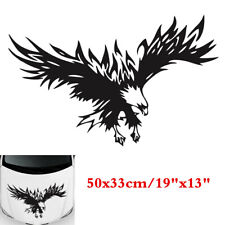 50x33cm Black Flying Eagle Graphics Decals Sticker Universal For Car Truck Hoods