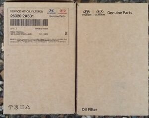 Genuine Hyundai i30 GD (MY12-16) Diesel Minor service Kit + Aircon filter