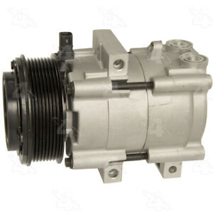 A/C Compressor-New Compressor 4 Seasons 68197