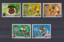 s5631) KOREA 1981 MNH** WC Football'82 - Campionato Mondiale Calcio 5v.