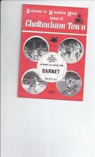 Barnet Football Non-League Fixture Programmes (1980s)