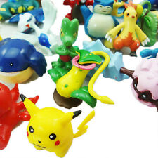 24Pcs Gifts Pokemon Monster Mini Figure Action Figures in Cute Toys Random Model