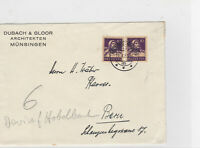 Switzerland Postal History Stamps Cover Ref: R7798