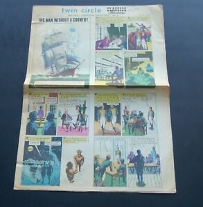 July 7 1968 Classic Illustrated Newspaper Comic Sect. Vol 2 #27  Man w/o a Count