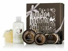 Body Shop Coconut Shower Cream Body Butter Scrub Soap Bath Lily Xmas Gift Set