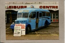 Photograph 1949 Purple Bedford in Service Isle of Man Bus Photo 1897L