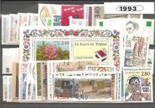 Année complète de timbres de France - 1993