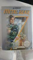 Metal Gear Solid Nintendo NES - Boxed CIB PAL A+ Box Protector