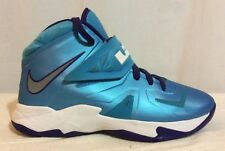 Nike Lebron Blue DS Zoom Soldier 7 VII 599818-403 US 7Y UK 6