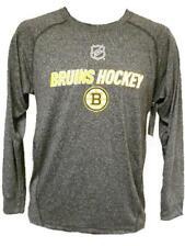 NEW NHL Boston Bruins MENS M Medium Reebok Compression Shirt