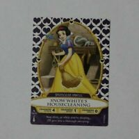 Disney Sorcerers of the Magic Kingdom card #34 Snow White's Housecleaning