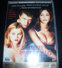 Cruel Intentions Reese Witherspoon Sarah Michelle Gellar (Aus Reg 4) DVD New