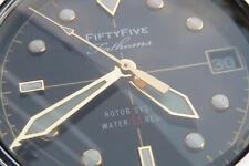 Brand New Seiko Diver SNZH Fifty Five Fathoms Blancpain (FFF) Homage Dagaz Dial