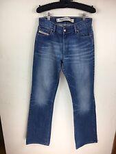 """Women's Diesel industry BLEU BOOT CUT délavé jeans W30"""" L 33 UK 8 (ai)"""