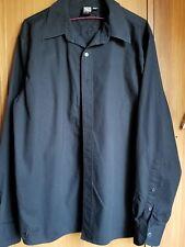 Rusty black long sleeved mens shirt sz M