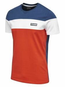 hummel Herren HmlNOEL T-SHIRT Blau Tee TShirt Shirt Freizeitshirt NEU