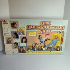 Vintage The Baby Sitters Club Game Milton Bradley 1989 Girls Night Party Game