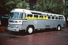 Peter Pan Bus Lines 60 original Kodachrome color bus slide