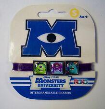 Roxo Disney Monsters University 3 Charm Bracelet Lot of 3