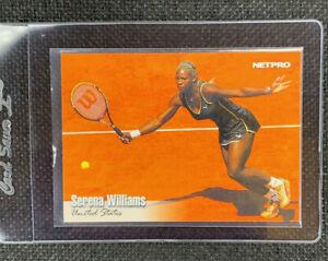 2003 NetPro Premier Series SERENA WILLIAMS #1 CARD! MINT! SHARP CORNERS! L@@K!