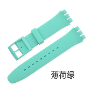 Wrist Watch Band Strap For S watch 16mm 17mm 19mm 20mm Rubber Silicone Non-slip