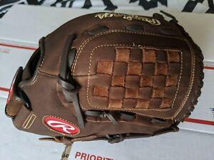 "Rawlings Player Preferred 12.5"" Baseball Softball Glove RHT P125BFL New"