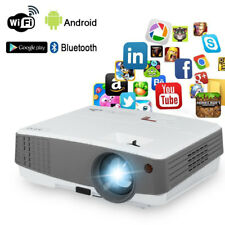 1080p Bluetooth Smart Mini Projector 3600 lumens Android Online TV Game Airplay