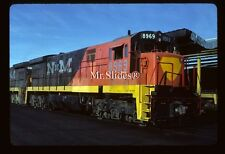 Original Slide NdeM Nacionales de Mexico U36C 8969 In 1986 At SLP SLP