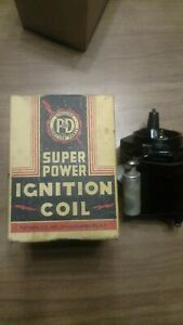 Ignition coil NOS Ford flathead v-8 78-12036 p&D FC-9