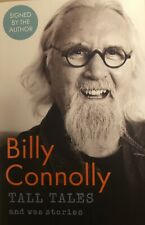 Billy Connolly SIGNED Tall Tales and Wee Stories 1st edition 1st print Hardback