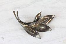 925 Brooch Pin Denmark Modern N4301 Vintage Hs Hermann Siersbol Sterling Silver