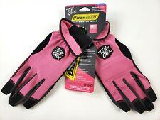 Ironclad Tuff Chix Womens Work Gloves Pink Amp Black Size Medium Nwt
