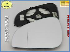PEUGEOT 407 Facelift 2008-2011 Wing Mirror Glass Aspheric HEATED Left /G022