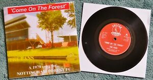 Rare-1979 Nottingham Forest Vinyl Record 'Come On The Forest' by the Fans