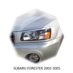 For Subaru Forester Eyebrows Eyelids SG5 SG9 2002 2003 2004 Primed 2pcs Set