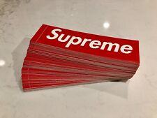 Supreme Box Logo Sticker (Original Red BOGO) 100% Authentic / Genuine / Classic
