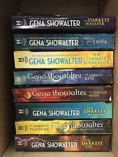 GENA SHOWALTER LORD OF THE UNDERWORLD SERIES PARANORMAL ROMANCE 8 BOOK LOT