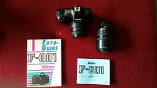 Nikon F-801, Spiegelreflex-Kamera mit 2 Objektiven ( analog ), Nikon F801,