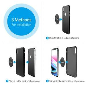 Ugreen Car Phone Holder Metal Plate Magnetic Disk Phone Stand Magnet Metal